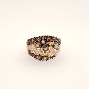 Picture of Smoky Topaz ring