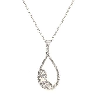 Picture of Diamond Teardrop Pendant