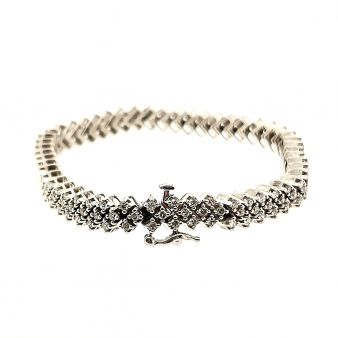 "Picture of ""V"" Shape Link Bracelet"