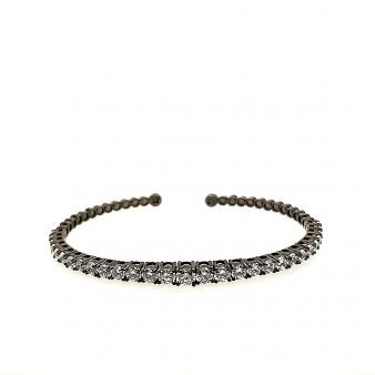 Picture of Black CZ Bangle