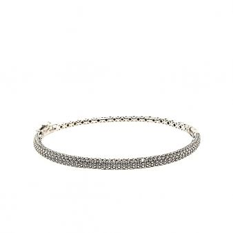 Picture of 1/2 way Hinged Bangle