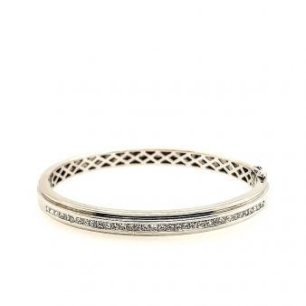 Picture of Channel Set Bangle Bracelet