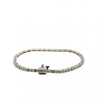 Picture of Box Link Tennis Bracelet