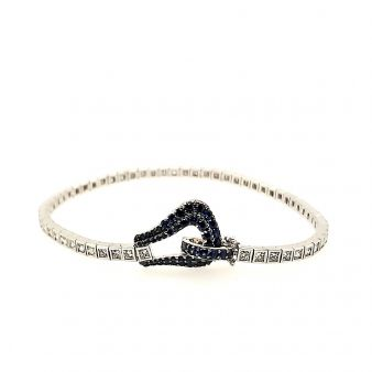 Picture of Sapphire Clasp Bracelet