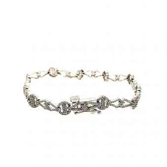 Fancy Oval Link Bracelet