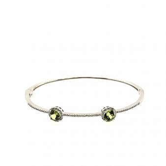 Picture of Peridot Bangle Bracelet