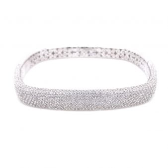 Picture of 9 Row Hinged Bangle